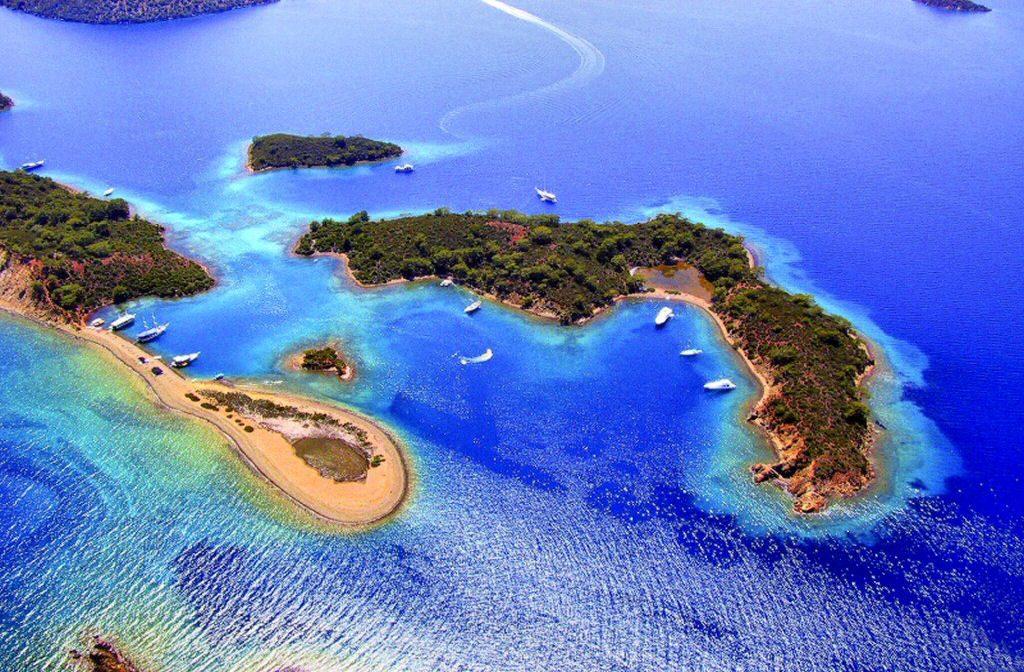 جولة بحرية الى 12 جزيرة