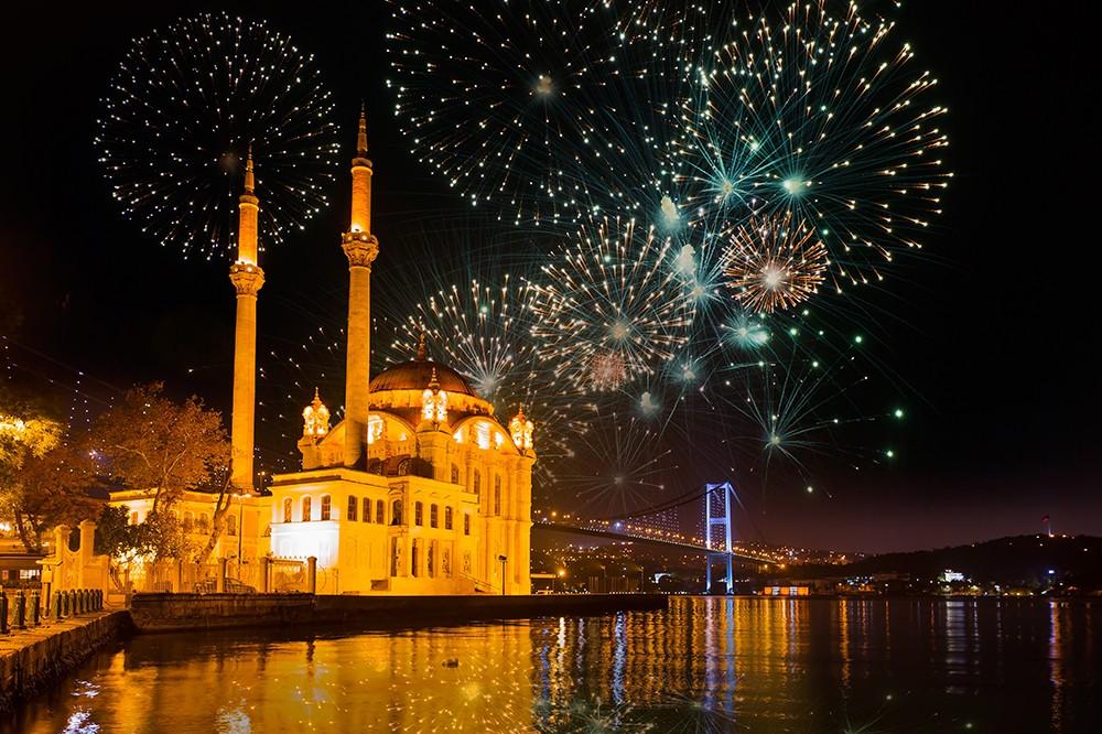 حفلة راس السنة في اسطنبول