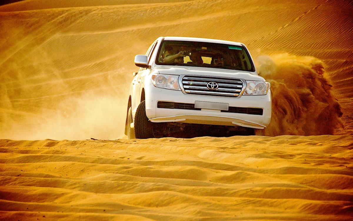 رحلة سفاري صحراء دبي