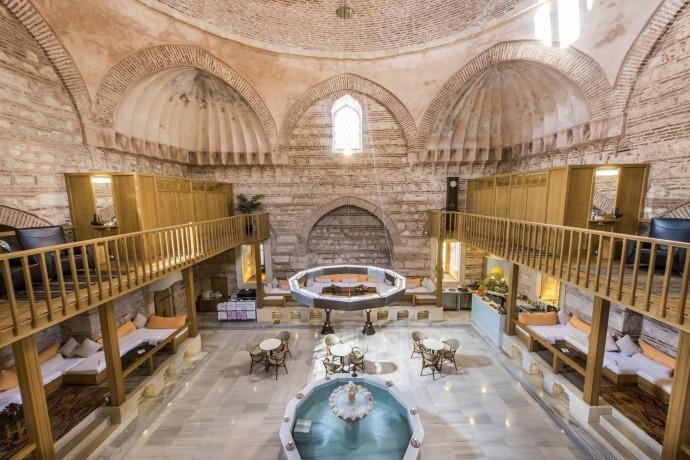 جولة الحمام التركي والمساج في انطاليا